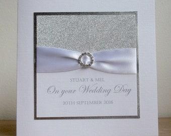 Wedding Congratulations Card Etsy