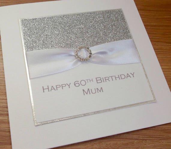 Handmade Cute Birthday Card Mummy Daddy Granny Nanny Grandad 30th 40th 50th 60th