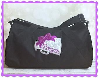 Cheer Bag - Duffel Bag - Overnight Bag - Cheerleading bag - Sports Bag - Sleepover Bag - Weekend Bag - Personalized Duffel Bag -Monogram Bag