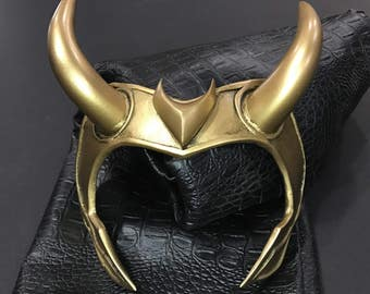 Loki Norse god horn headpiece