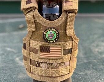 Military Veteran Beverage Insulator