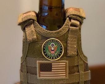 Military  Tactical Vest Beverage Insulator!