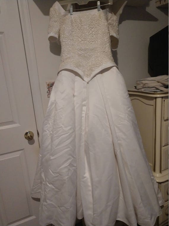 Vintage Ball Gown Wedding Dress