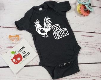 Cock blocker onesie|Funny baby onesie|black onesie|baby shower gifts|novelty onesie|baby shirts|toddler shirt|geeky baby clothes