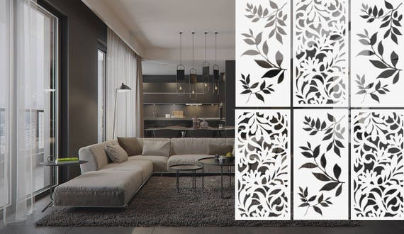 Raumteiler Innere Trennwand Zimmer Dekor Hangenden Etsy