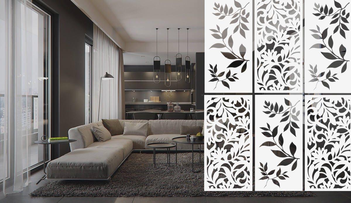 Raumteiler Innere Trennwand Zimmer Dekor Hängenden Etsy