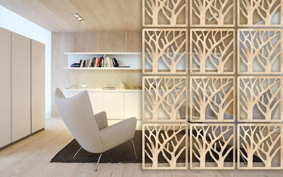 Raumteiler Eco Innere Trennwand Holz Hangen Bildschirm 12 Etsy