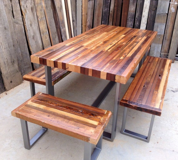 Custom Handmade Rustic Industrial Modern Indoor Outdoor Etsy