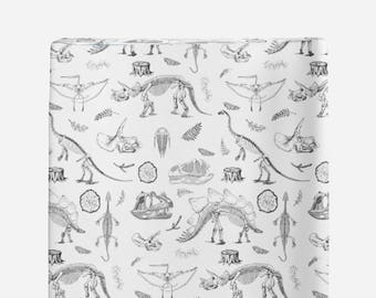 Changing Pad Cover Dino Life, Minky Changing Pad Cover, Dinosaur Skeletons Changing Pad Cover, Dino Changing Pad Cover, Modern Nursery