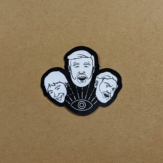 Last Podcast on the Left Set of 6 Stickers LPOTL