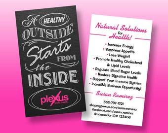 PRINTED Plexus Business Cards