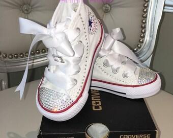 4d892af2dd8ff Swarovski baby shoes | Etsy