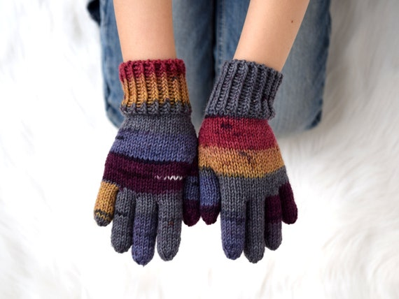 3-5 Years Children Gloves Mittens 2 Layers Snowflake Winter Warm Baby Kid Gift