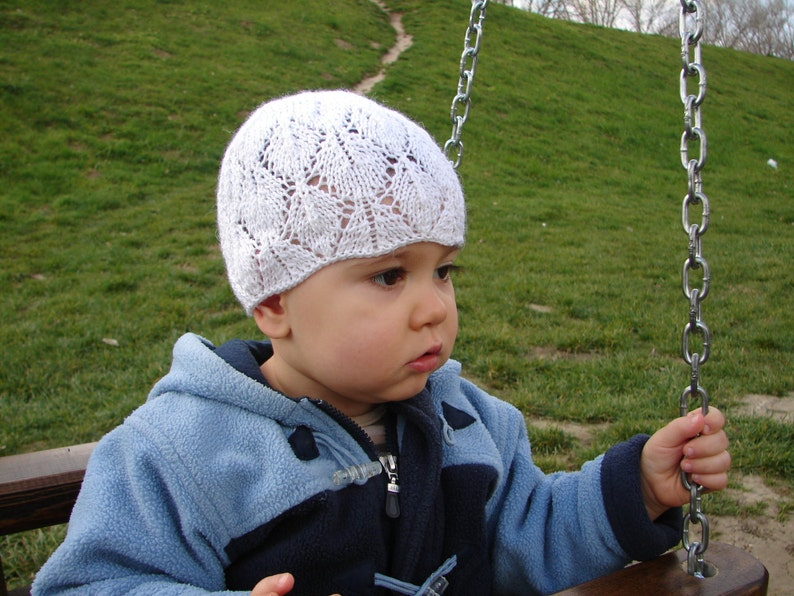 cool wool hat for kids White baby hat toddler hat laced beanie girls beanie