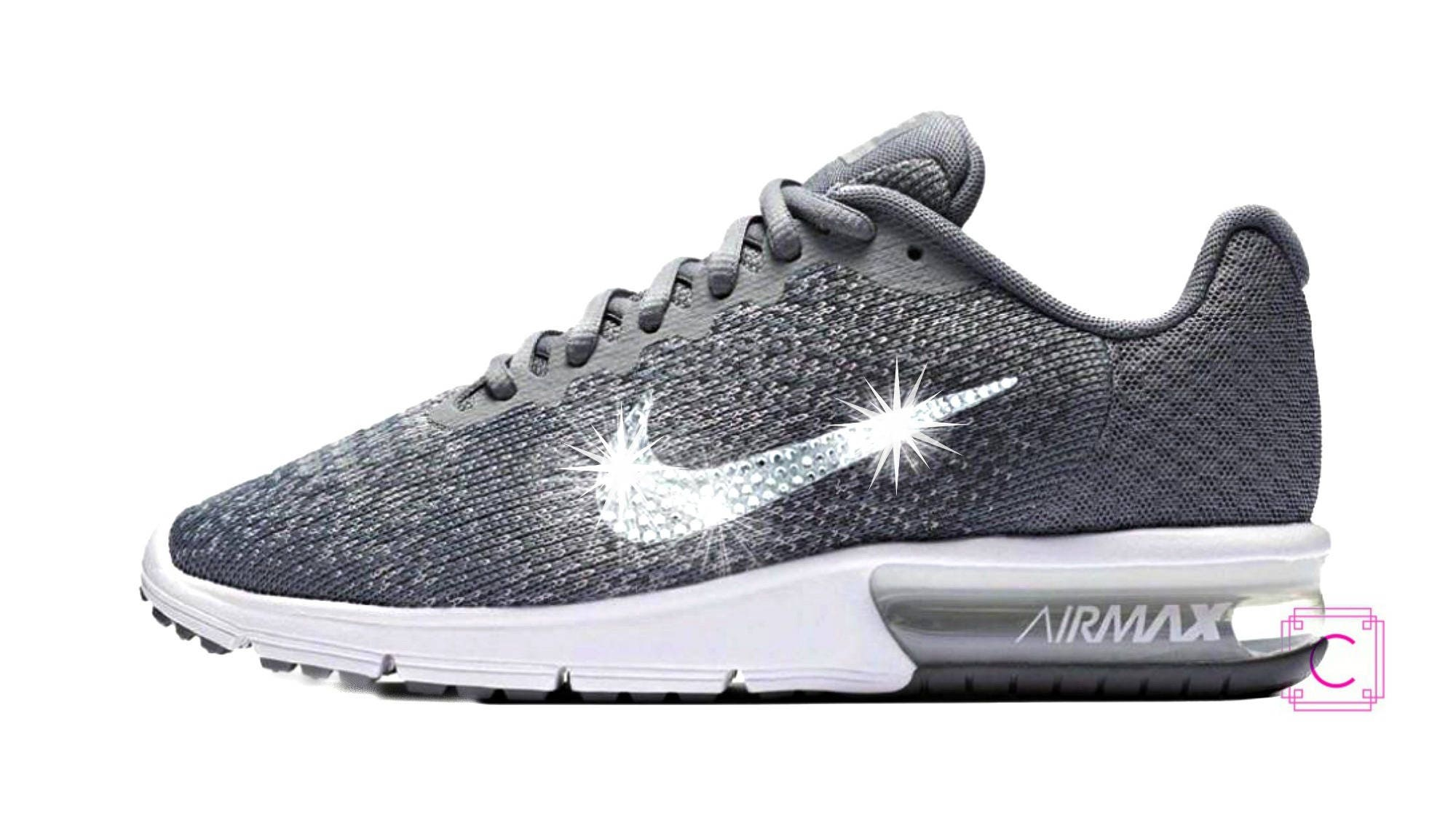 ... new style 8f2fc 89082 Last pair sz 10 Womens Bling Nike Air Max Sequent  ... 6ca161ca9def