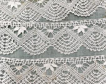A pretty vintage Belgian cotton lace