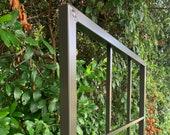 "Classic Metal Garden Wall Mounted Trellis, All Aluminum, Handmade, 65"" x 27"", garden decor, yard art, bougainvillea, ivy, climbing vines"