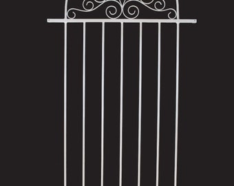 Screen Door Grille, Decorative, Protective, Aluminum Grille, St. George  Style, From The Old Florida Collection