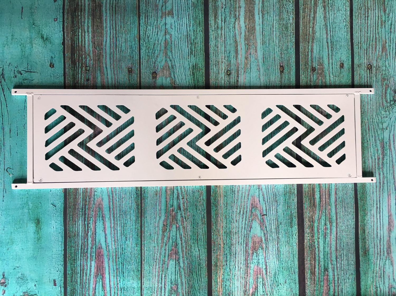 Push Bar For Screen Door Beach Inspired Design Aluminum And Etsy