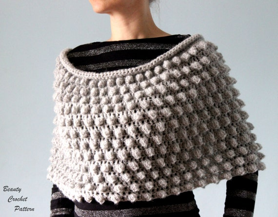 f58a694e7b05b Crochet Poncho Pattern Womens Crochet Poncho Pattern