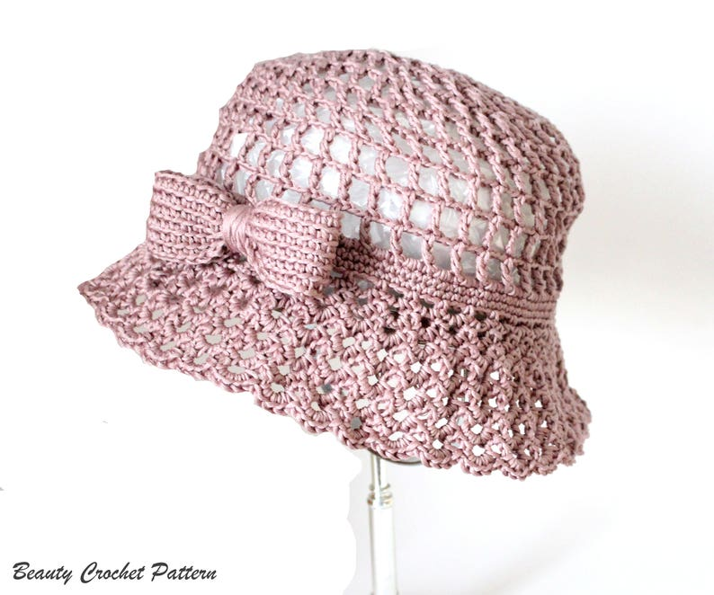 bb97c6b0a28 Crochet Summer Hat Patterns Crochet Sun Hat Pattern Summer
