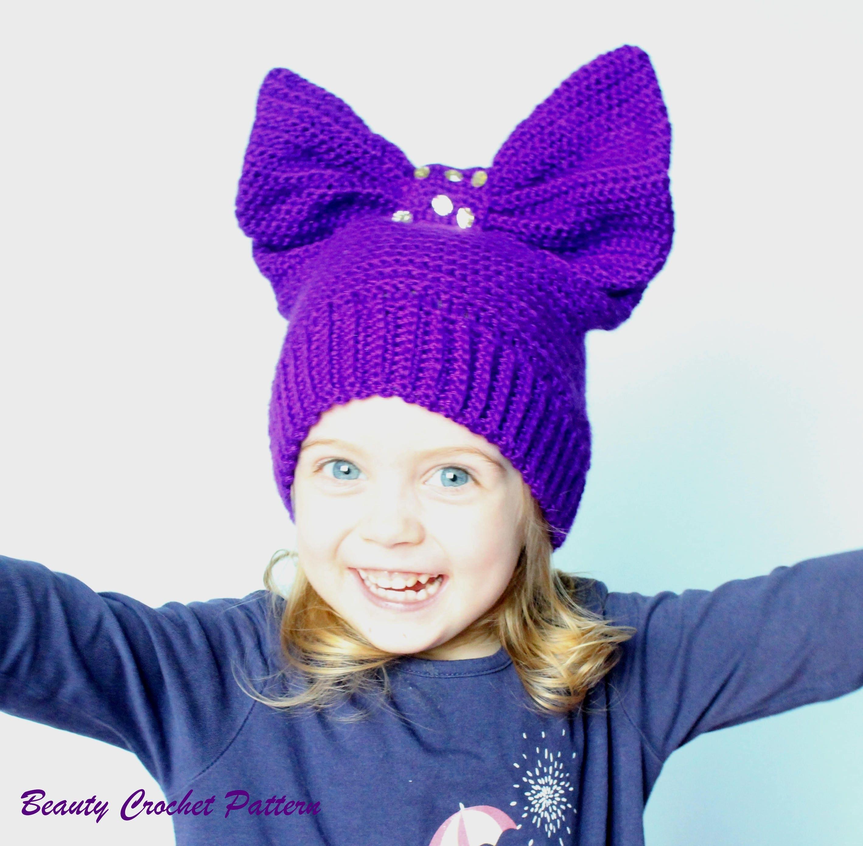 Crochet Hat Pattern Crochet Hat Women Crochet Hats Kids Etsy