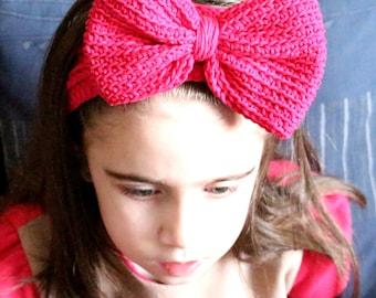 Crochet Headband Pattern, Bow Headband Baby, Bow Headband Women, Crochet Bow Headband Pattern, Crochet Headwrap Pattern, Crochet Head warmer