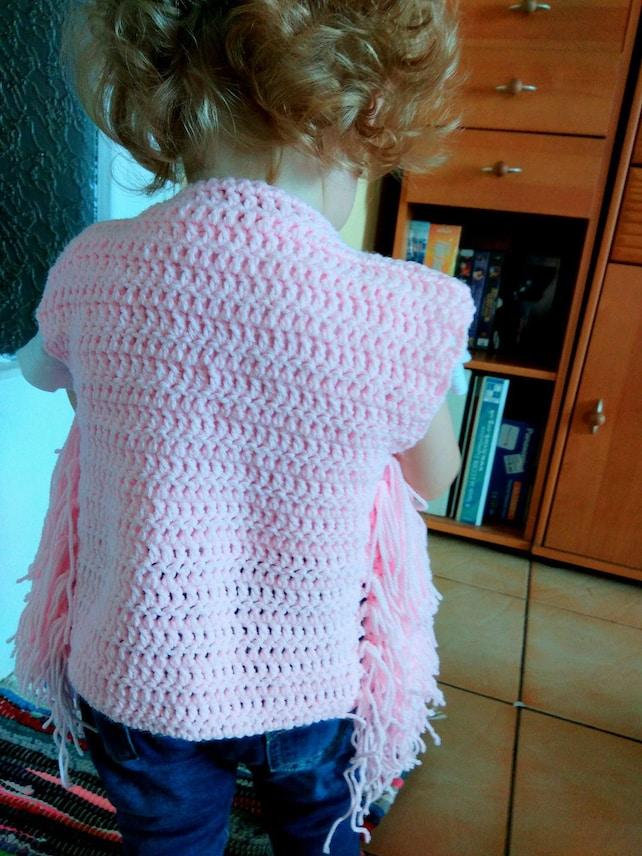 Crochet Vest Pattern Vest Patterns Fringe Vest Pattern Etsy