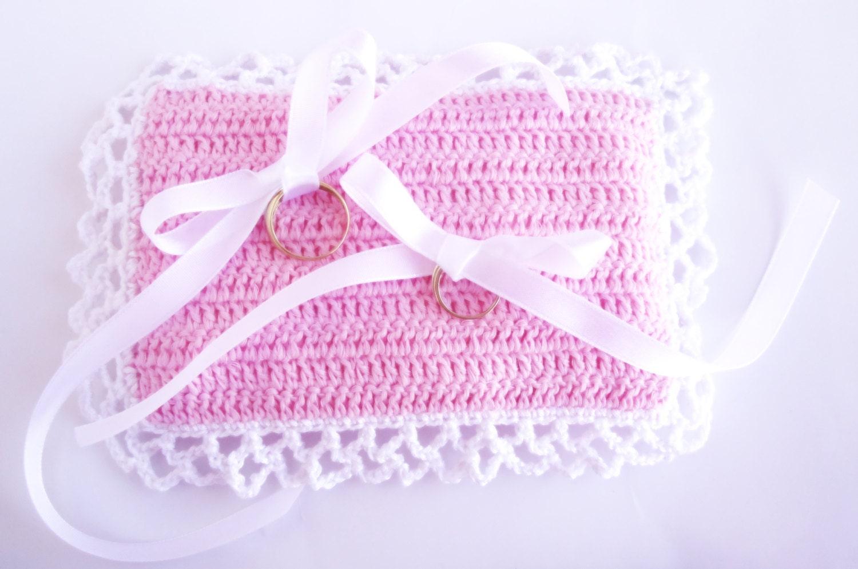 Crochet Pattern Ring Bearer Pillow Wedding Pillow Ring   Etsy
