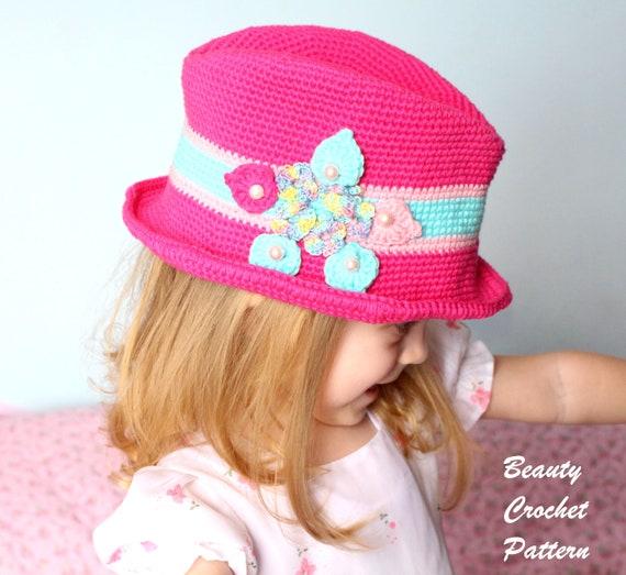 Fedora Hat Pattern Fedora Hat Pattern Women Fedora Hat Etsy