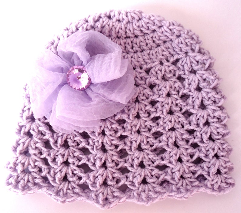 053be40331831 Crochet Summer Hat Pattern Girl Hat Pattern Baby Girl Hat