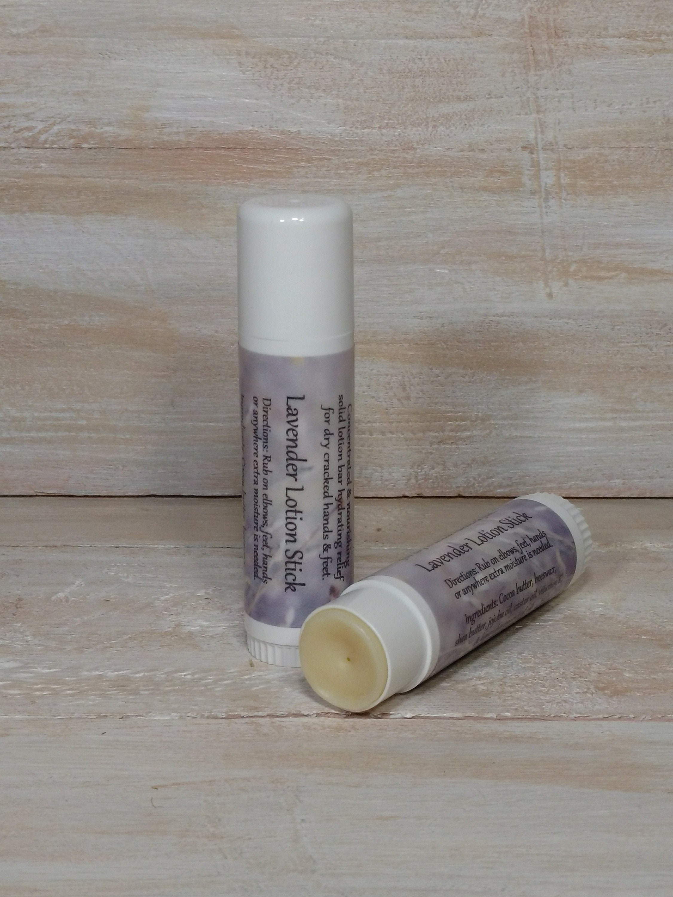 Solid Lavender Essential Oil Infused Moisturizing Lotion Stick By Naturally  Magic