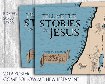 2019 Primary Come Follow Me New Testament Coloring Page Etsy