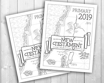 2019 Primary Theme Presidency Planner Come Follow Me New Etsy