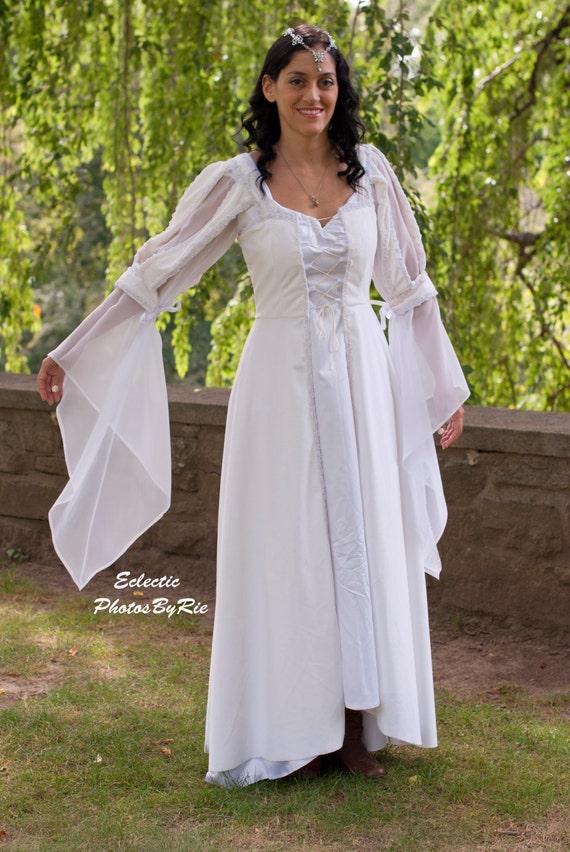Snow White/Medieval Wedding gown | Etsy