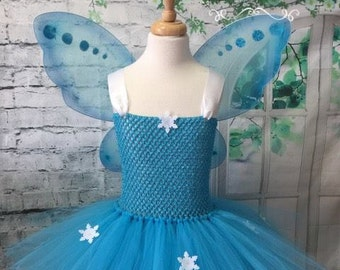 fairy tutu fairy dress snow fairy snow fairy tutu snow fairy dress fairy costume blue fairy costume blue fairy tutu & Blue fairy costume | Etsy