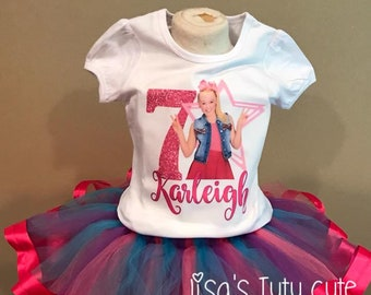 Jojo Tutu Siwa Birthday Shirt Outfit