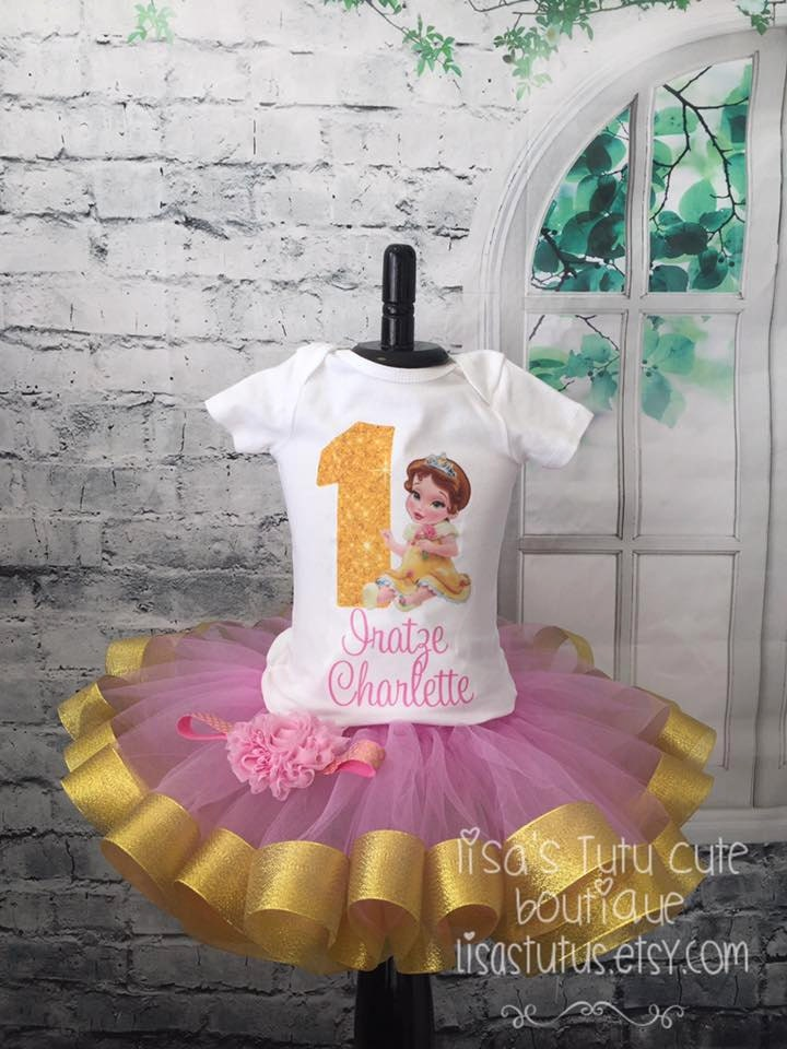 0ea90a9a01c Belle birthday outfit Belle birthday shirt Baby Bella