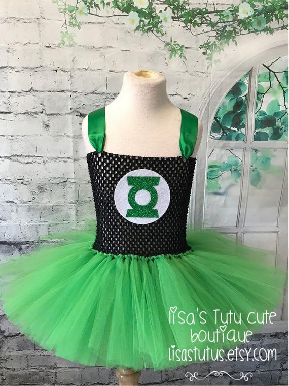 Green Lantern Tutu Dress