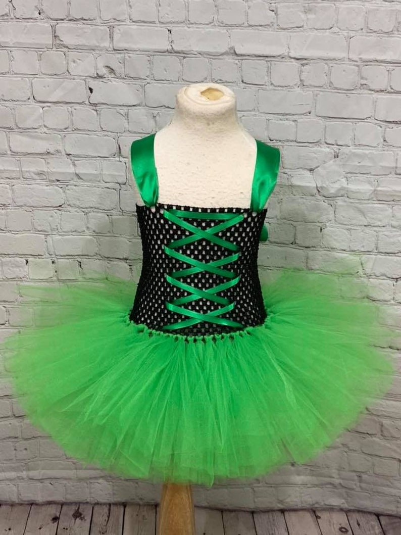 eaf64b18934a Black and green tutu black and green dress black corset