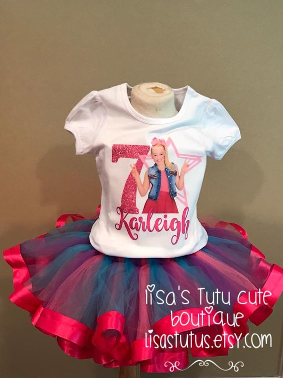 Jojo Tutu Siwa Birthday Shirt