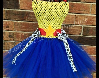 Cowgirl Tutu Dress. Cowgirl birthday. Party dress. Cowgirl birthday. Jesse inspired dress. Cowgirl tutu. Halloweenz