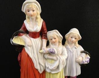 English Lavender Porcelain Figurine Rare Vintage Advertising CollectibleHome Decor