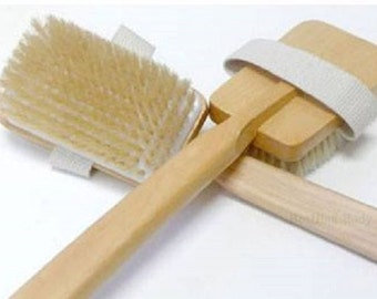 back brush-shower brush-scrub brush-soft bristle