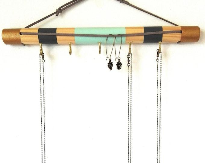 Jewelry Wall Organizer/Jewellery Hanger/Jewelry Hanger/Jewellery Display/Jewelry Display/Jewellery Storage/Jewelry Rack/Earring Hanger/Boho