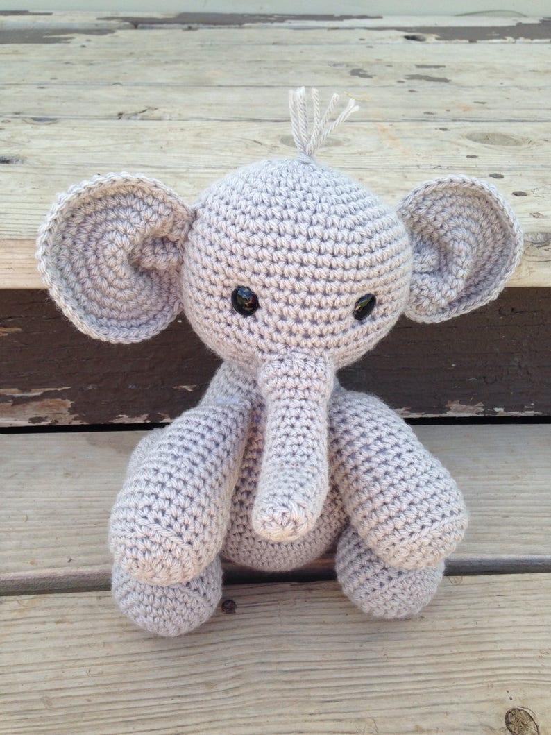 Crochet Elephant Doll - Hekaia   1059x794