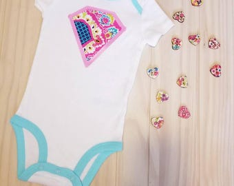 Unique Design Custom Onsie For A Beautiful Princess