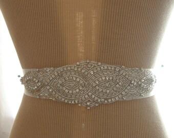 SALE / Wedding Belt, Wedding Sash Belt, Bridal Belt, Bridesmaid Belt, Sash Belt, Bridal Sash, Belt, Crystal Rhinestone