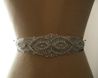 SALE / Wedding Belt, Bridal Belt, Bridesmaid Belt, Sash Belt, Wedding Sash, Bridal Sash, Belt, Crystal Rhinestone