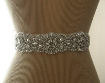 SALE / Wedding Belt, Bridal Belt, Bridesmaid Belt, Sash Belt, Wedding Sash, Bridal Sash, Belt, Wedding Sash Belt, Crystal Rhinestone & Pearl
